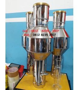 Ombrometer OBS Stainless Alat Ukur Curah Hujan Manual