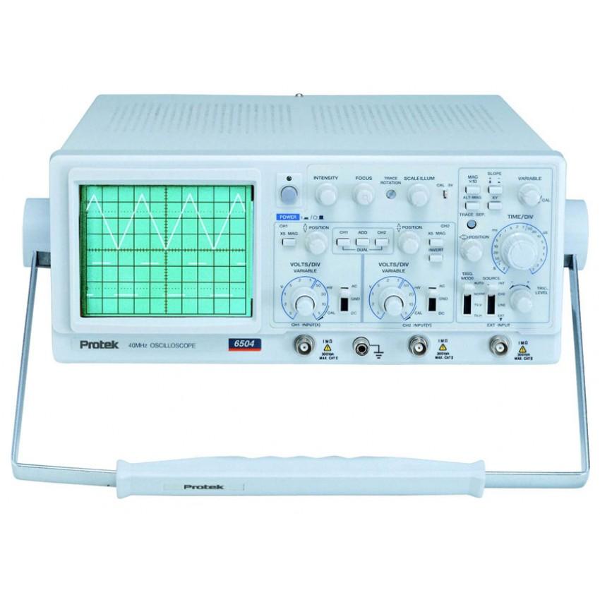 Pro Tek Oscilloscope : Protek analog oscilloscope mhz geo multi digital
