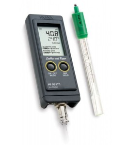 Hanna HI 99171 pH Meter for Leather and Paper